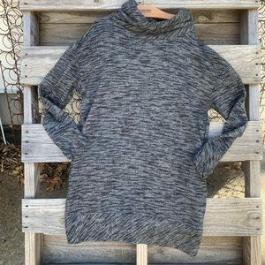 St. John's Bay long tunic sweatshirt gray